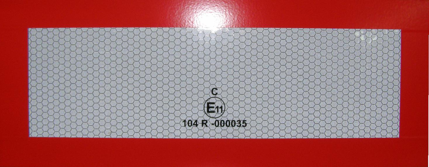 Simaco Nalepnice - Reflektujuće Nalepnice | Reflex - Fluo | Reflektujuće Nalepnice | Reflex - Fluo | Reflektujuća tabla - bela