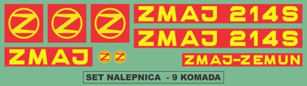 Simaco Nalepnice - Berači | Berači | Zmaj - 214 S