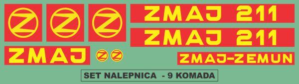 Simaco Nalepnice - Berači | Berači | Zmaj - 211