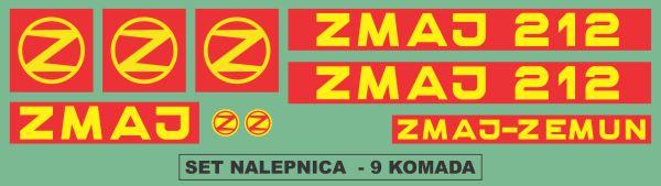 Simaco Nalepnice - Berači | Berači | Zmaj - 212