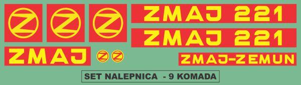 Simaco Nalepnice - Berači | Berači | Zmaj - 221