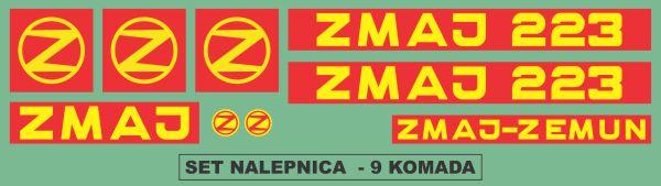 Simaco Nalepnice - Berači | Berači | Zmaj - 223
