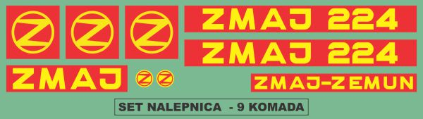 Simaco Nalepnice - Berači | Berači | Zmaj - 224