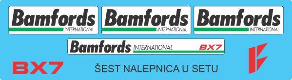 Simaco Nalepnice - Balirke | Balirke | BAMFORDS BX7