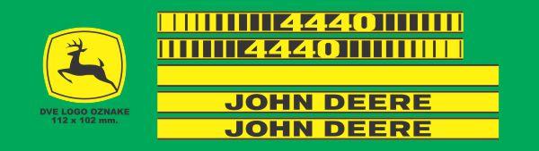 Simaco Nalepnice - Traktori - John Deere | Traktori - John Deere | JOHN DEERE - 4440