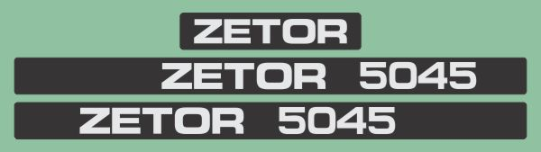 Simaco Nalepnice - Traktori - Zetor | Traktori - Zetor | ZETOR - 5045
