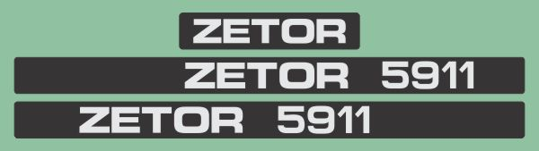 Simaco Nalepnice - Traktori - Zetor | Traktori - Zetor | ZETOR - 5911