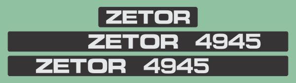 Simaco Nalepnice - Traktori - Zetor | Traktori - Zetor | ZETOR - 4945