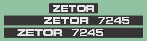 Simaco Nalepnice - Traktori - Zetor | Traktori - Zetor | ZETOR - 7245