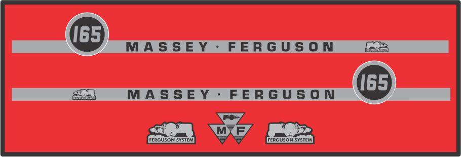Simaco Nalepnice - Traktori - Massey Ferguson   Traktori - Massey Ferguson   MASSEY FERGUSON - 165