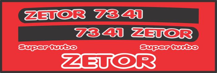 Simaco Nalepnice - Traktori - Zetor   Traktori - Zetor   ZETOR - 7341