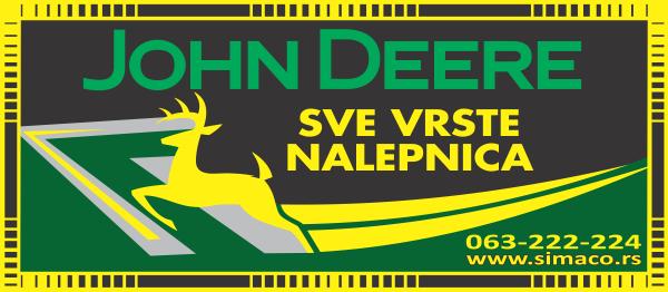 Simaco Nalepnice - Traktori - John Deere | Traktori - John Deere | sve vrste nalepnica za john deere