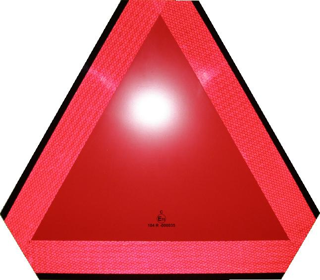 Simaco Nalepnice - Reflektujuće Nalepnice | Reflex - Fluo | Reflektujuće Nalepnice | Reflex - Fluo | ALUMINIJUMSKI TROKUT - OZNAKA ZA SPORA VOZILA