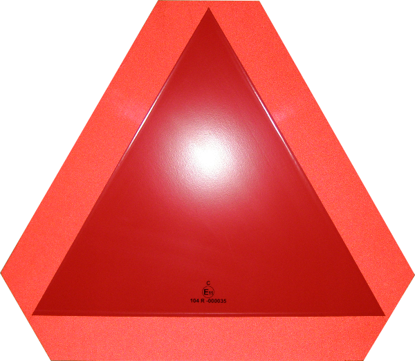 Simaco Nalepnice - Reflektujuće Nalepnice | Reflex - Fluo | Reflektujuće Nalepnice | Reflex - Fluo | tabla za označavanje sporih vozila