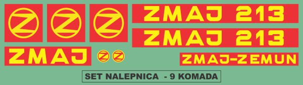 Simaco Nalepnice - Berači | Berači | Zmaj - 213