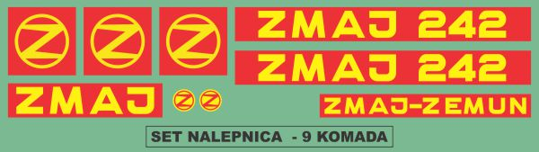Simaco Nalepnice - Berači | Berači | Zmaj - 242