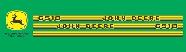 Simaco Nalepnice - Traktori - John Deere | Traktori - John Deere | JOHN DEERE - 6510