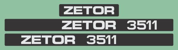 Simaco Nalepnice - Traktori - Zetor   Traktori - Zetor   ZETOR - 3511