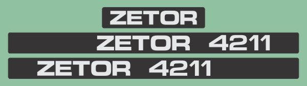 Simaco Nalepnice - Traktori - Zetor   Traktori - Zetor   ZETOR - 4211