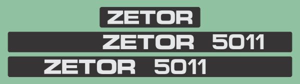 Simaco Nalepnice - Traktori - Zetor   Traktori - Zetor   ZETOR - 5011