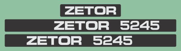 Simaco Nalepnice - Traktori - Zetor   Traktori - Zetor   ZETOR - 5245