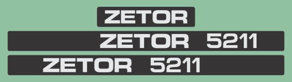 Simaco Nalepnice - Traktori - Zetor   Traktori - Zetor   ZETOR - 5211