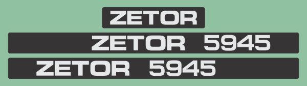 Simaco Nalepnice - Traktori - Zetor   Traktori - Zetor   ZETOR - 5945