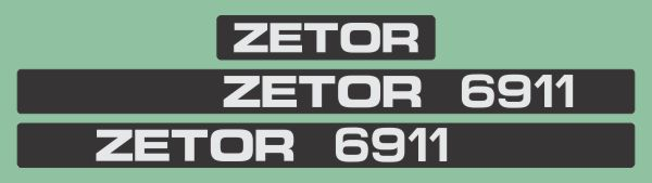 Simaco Nalepnice - Traktori - Zetor   Traktori - Zetor   ZETOR - 6911