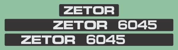 Simaco Nalepnice - Traktori - Zetor   Traktori - Zetor   ZETOR - 6045