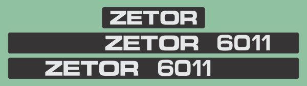 Simaco Nalepnice - Traktori - Zetor   Traktori - Zetor   ZETOR - 6011