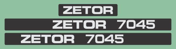 Simaco Nalepnice - Traktori - Zetor   Traktori - Zetor   ZETOR - 7045