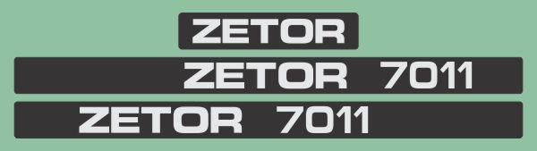 Simaco Nalepnice - Traktori - Zetor   Traktori - Zetor   ZETOR - 7011