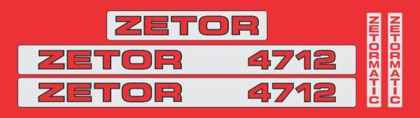 Simaco Nalepnice - Traktori - Zetor   Traktori - Zetor   ZETOR - 4712