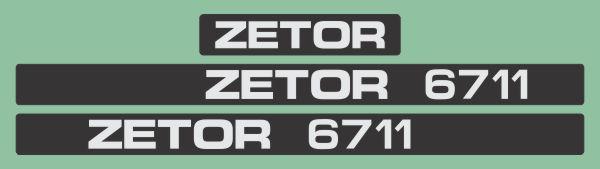 Simaco Nalepnice - Traktori - Zetor   Traktori - Zetor   ZETOR - 6711