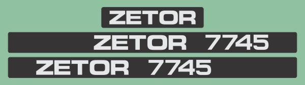 Simaco Nalepnice - Traktori - Zetor   Traktori - Zetor   ZETOR - 7745