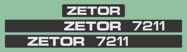 Simaco Nalepnice - Traktori - Zetor   Traktori - Zetor   ZETOR - 7211