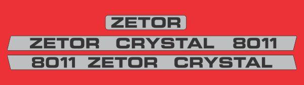 Simaco Nalepnice - Traktori - Zetor   Traktori - Zetor   ZETOR - CRYSTAL 8011